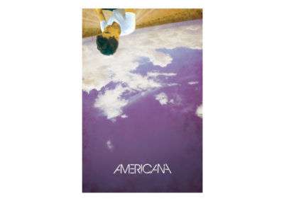 AMERICANA Poster Design - Created with Adobe Creative Suite by CJ Mascarelli.